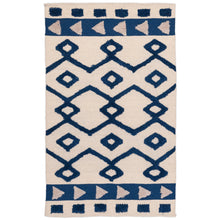 Load image into Gallery viewer, Blue Frills Rug
