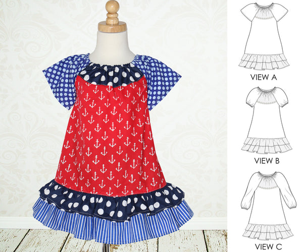 The Peggy Dress Sewing Pattern