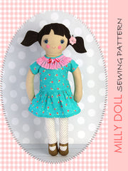 fabric doll sewing pattern