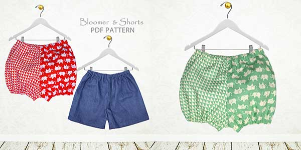 baby bloomers sewing pattern, bloomers sewing pattern