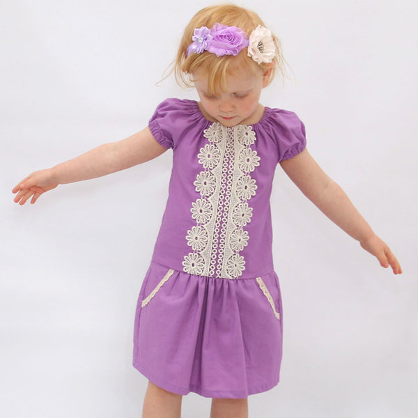 Daisy girls peasant dress sewing pattern