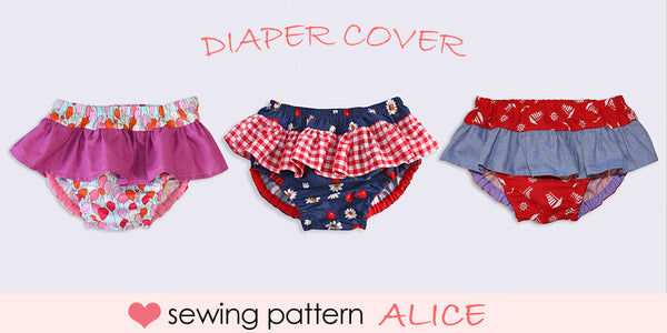 nappy cover sewing pattern, diaper cover sewing pattern