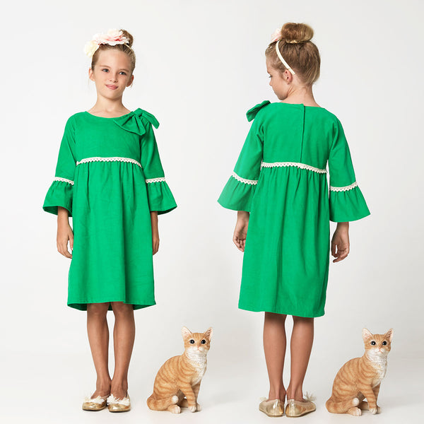Anke girls dress and top sewing pattern