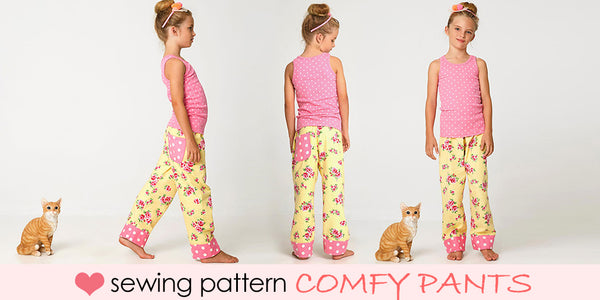 kids pants sewing pattern, baby pants sewing pattern