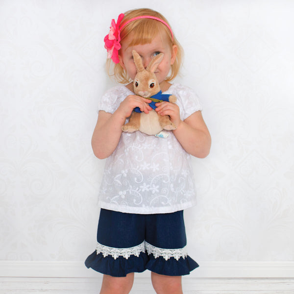 baby pants sewing pattern, girls pants sewing pattern