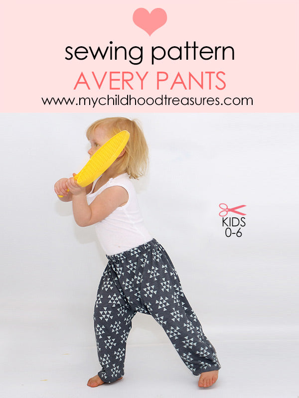 harem pants sewing pattern
