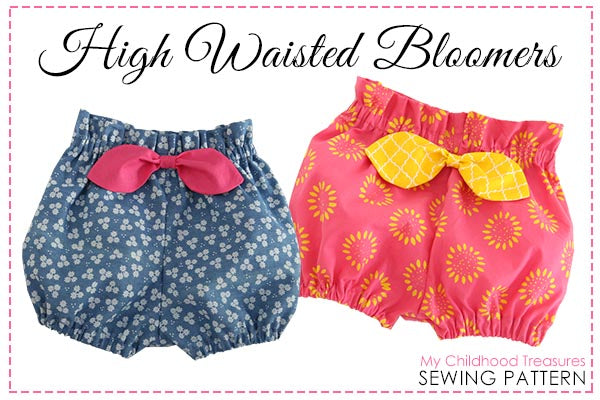 high waisted bloomers sewing pattern
