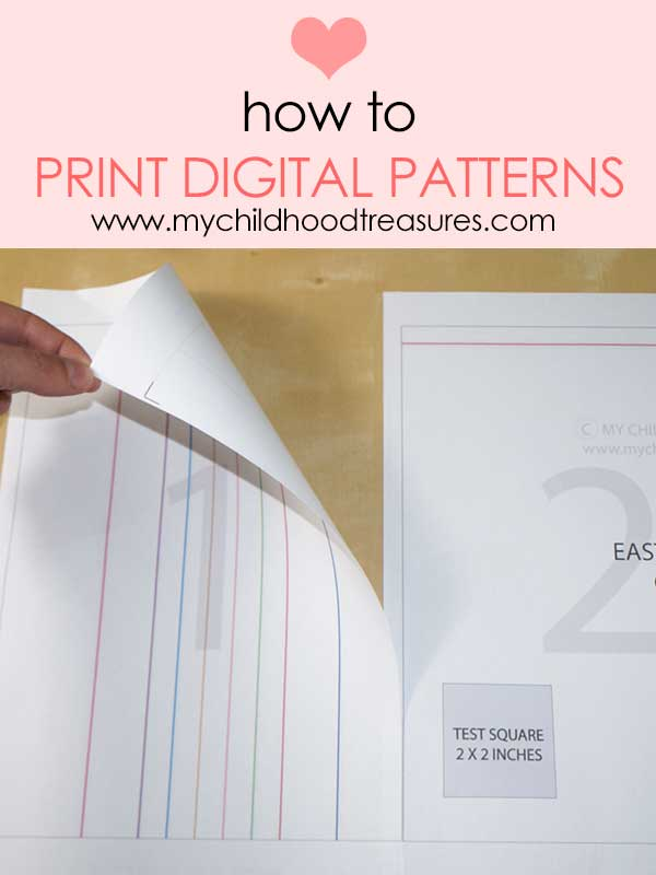 how to print digital sewing patterns