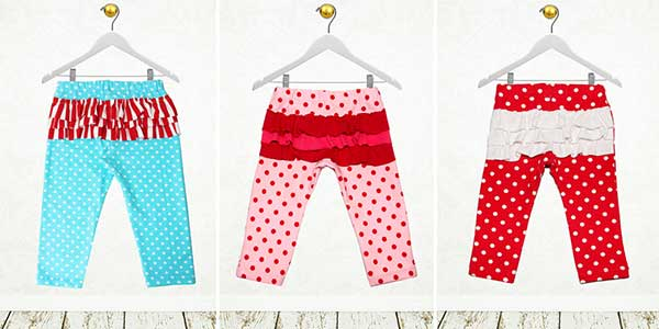 baby leggings pattern, girls leggings sewing pattern