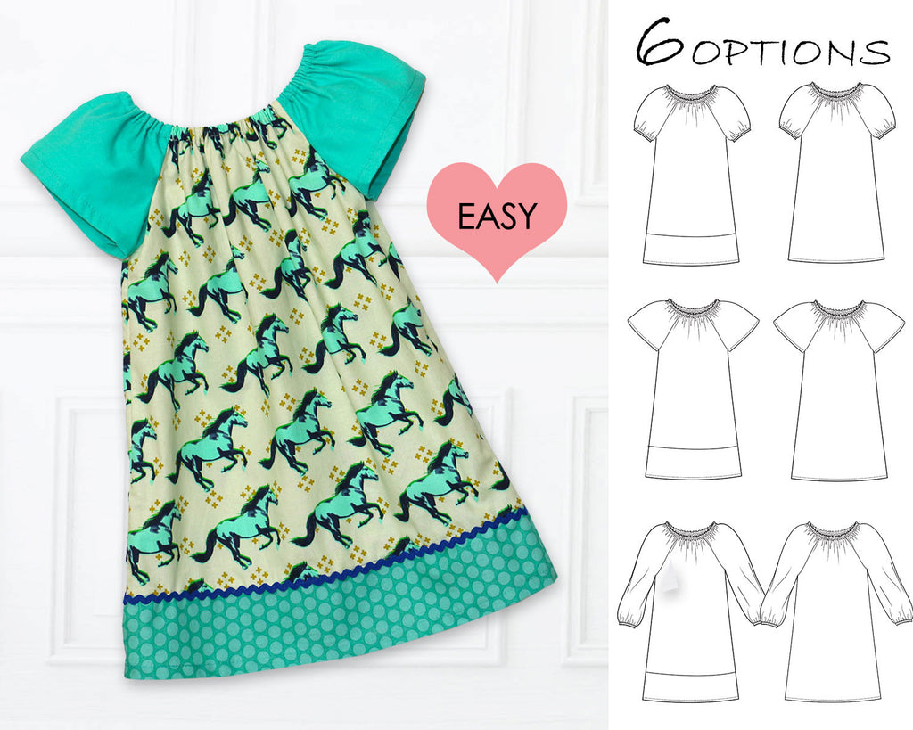 Very Easy Dress Sewing Patterns