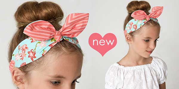headband sewing pattern, hairband pattern, retro headband