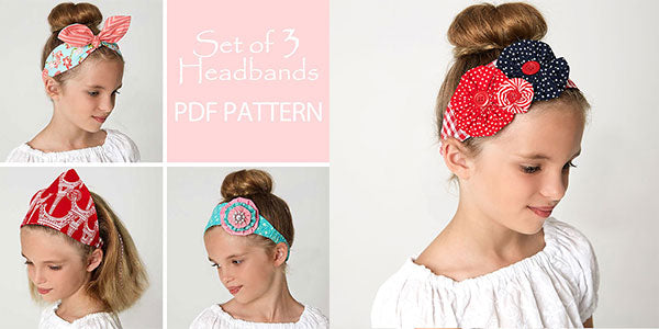 headband pattern, headband sewing pattern