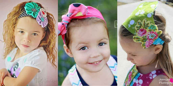 retro headband sewing pattern