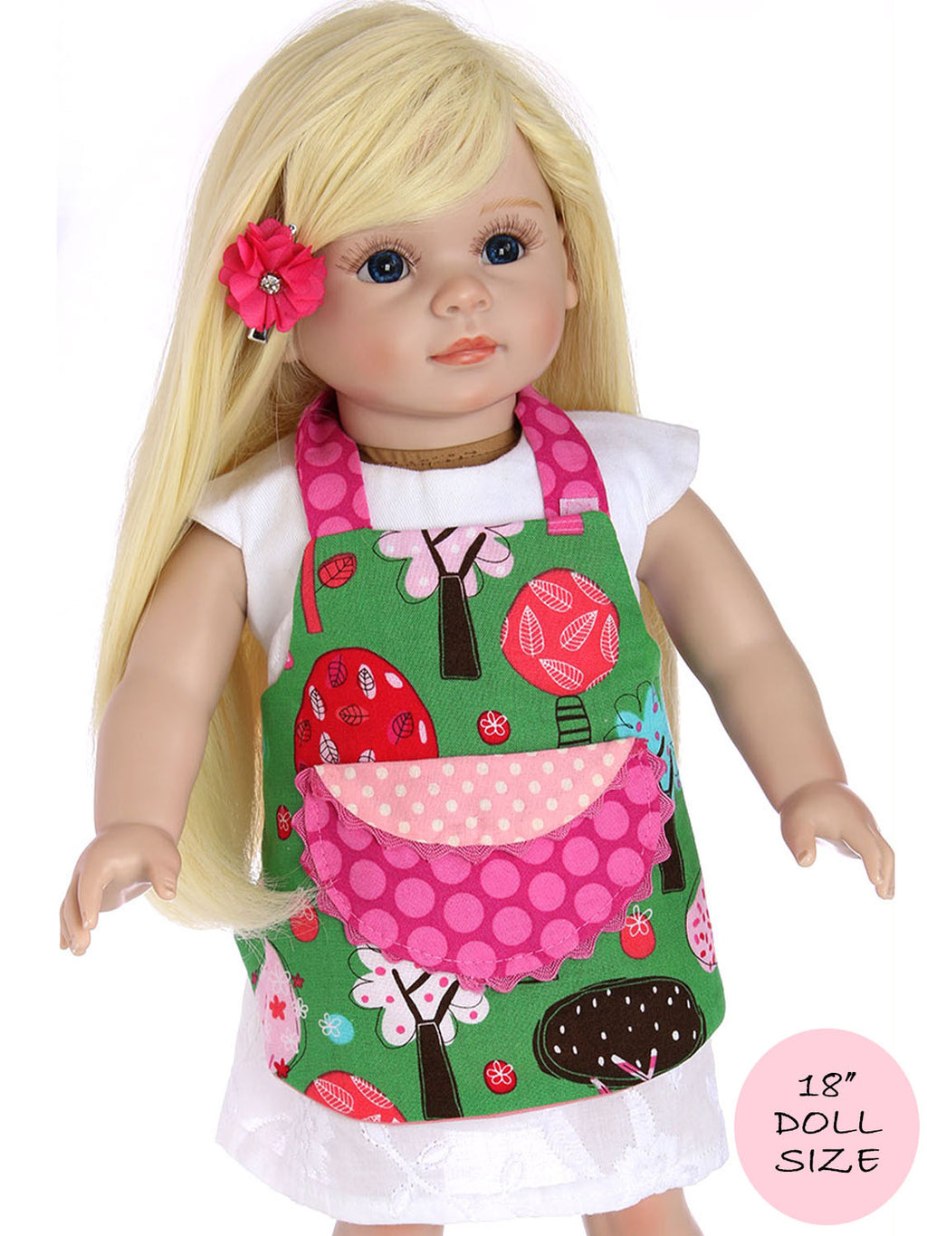 doll apron pattern
