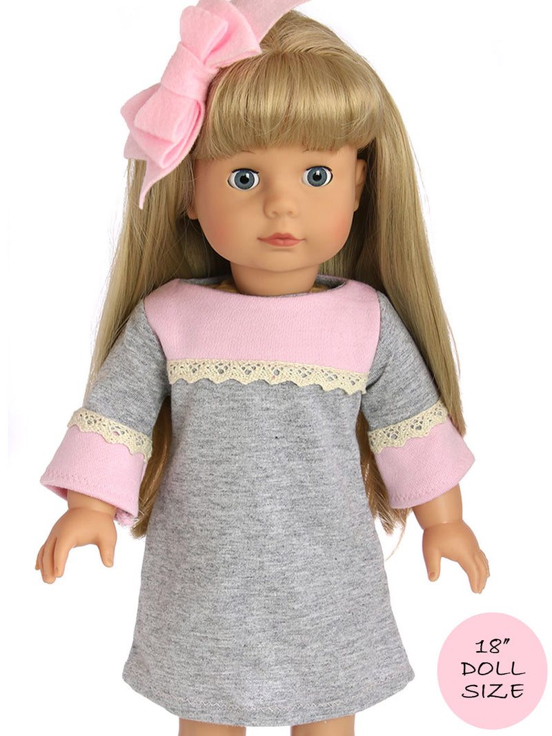 18 inch doll DRESS pattern