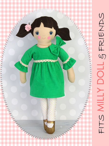 18 inch fabric doll pattern