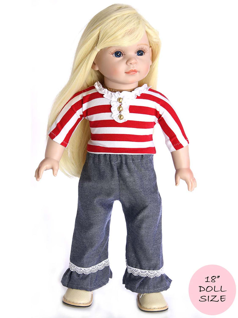 18 inch doll pants pattern