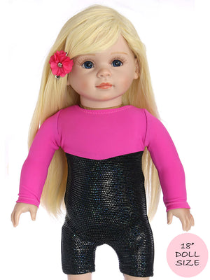 doll leotard pattern