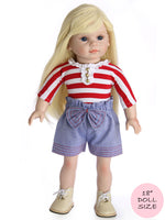 doll shorts pattern