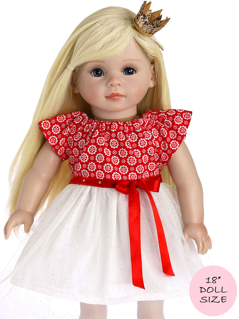 18 inch doll sewing pattern