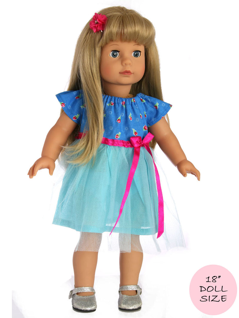 doll tutu dress pattern