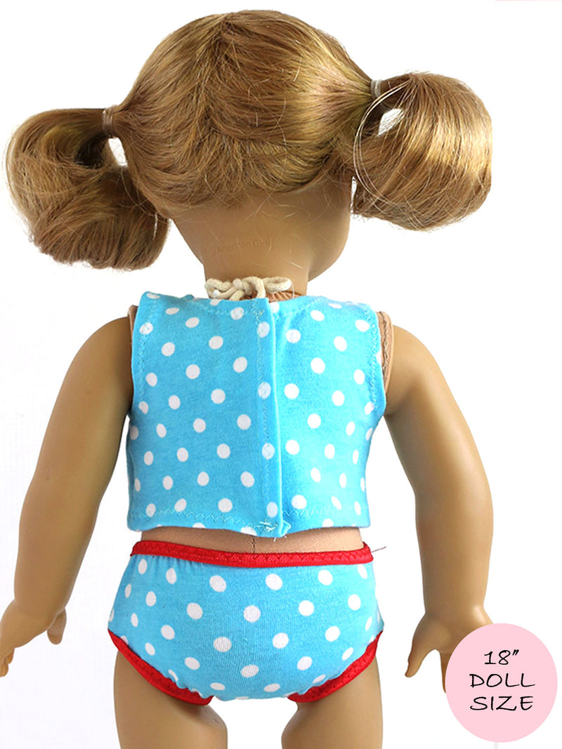 18 inch doll clothes patterns - UNDERWEAR (D1320)
