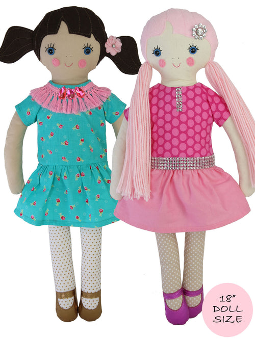 rag doll pattern