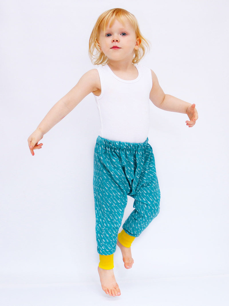 BAILEY - Baggy Harem Pants Pattern (O-6T)