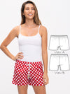 ladies shorts patterns