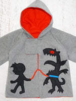 boys hoodie pattern, boys sewing pattern