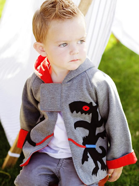 boys jacket pattern, hoodie pattern