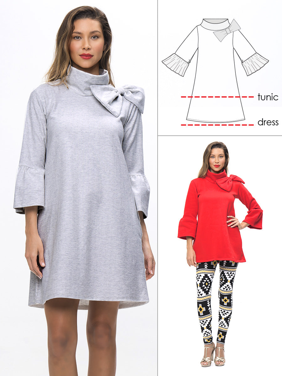 sweatshirt dress pattern