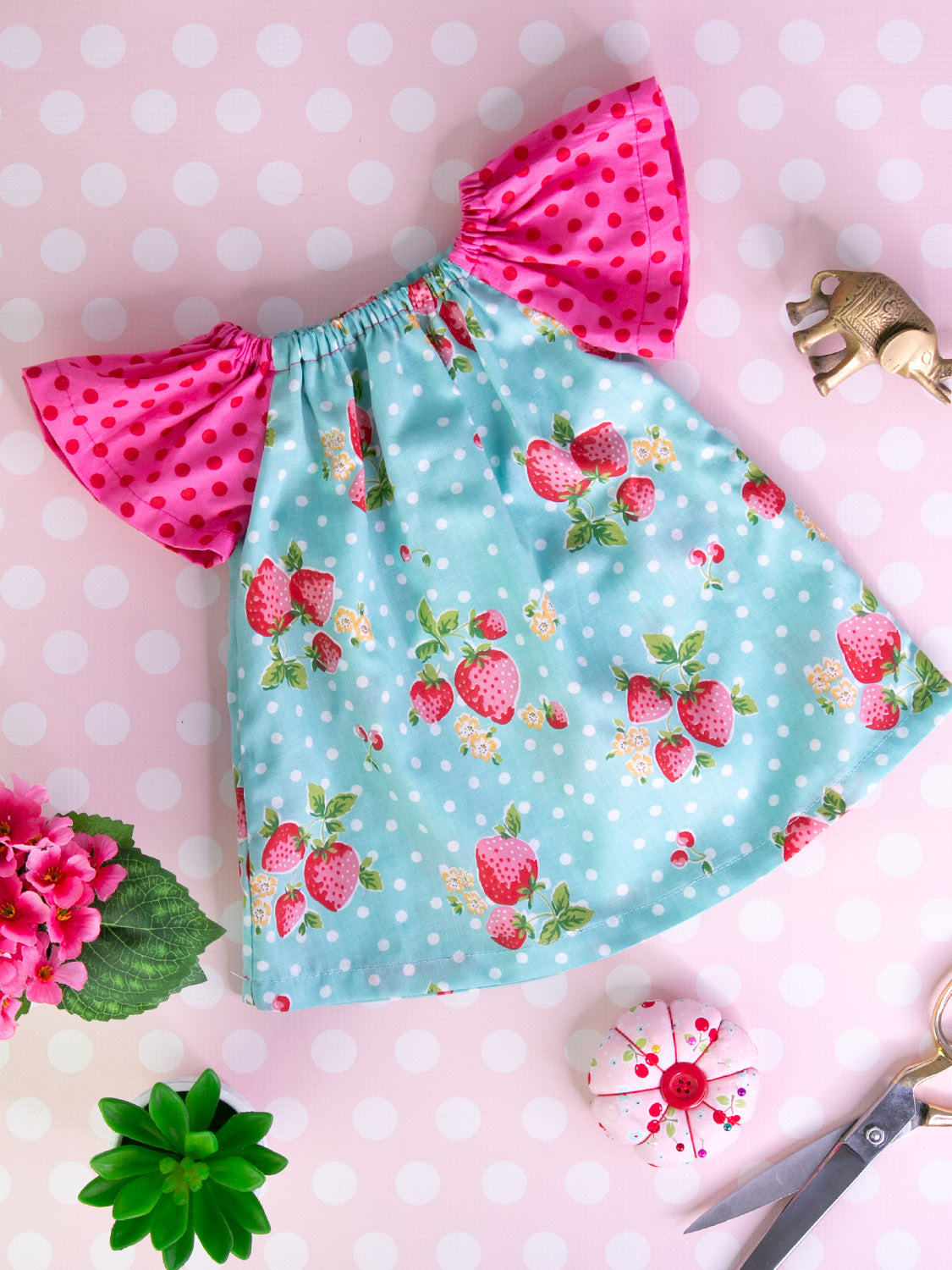 6a96dde18 Anna Peasant Dress Sewing Pattern – TREASURIE - My Childhood Treasures