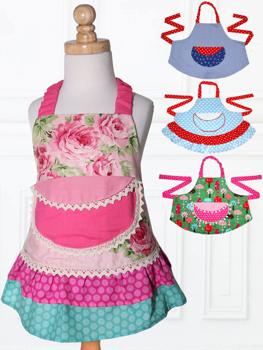 Childrens Apron Sewing Pattern Treasurie My Childhood
