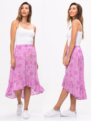 womens skirt pattern, elastic skirt pattern