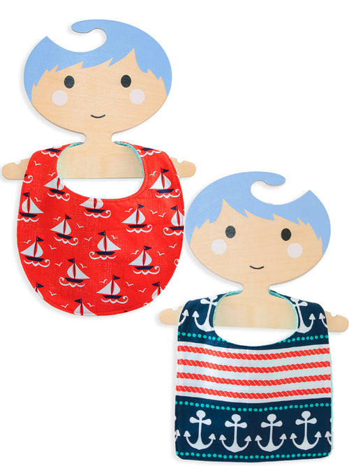 (BIB2) - Baby Bib Pattern Basic Set (0-24Mth)