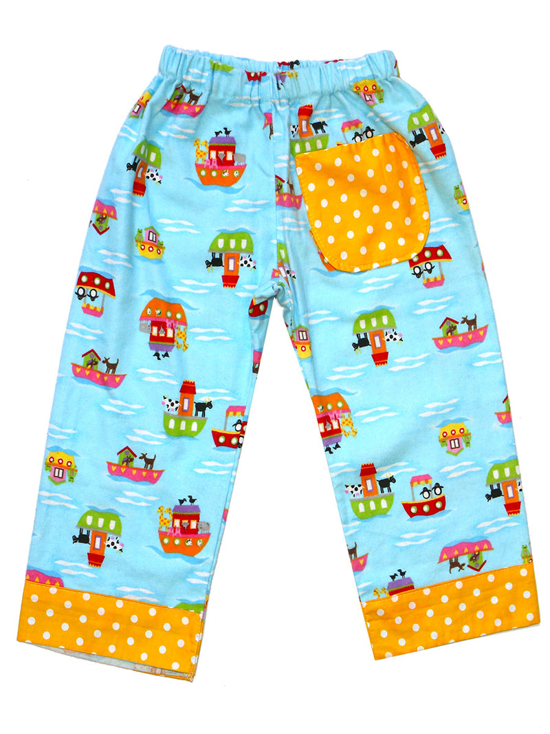 COMFY - Baby Pants Sewing Pattern (0-24 Months)