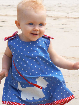 SCOTTIE - BABY Reversible Dress & Top Pattern
