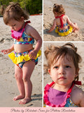 baby swimsuit sewing pattern