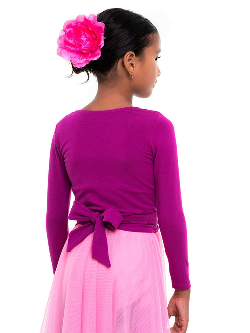 wrap top ballet, ballet wrap pattern