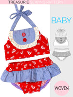 baby swimsuit pattern