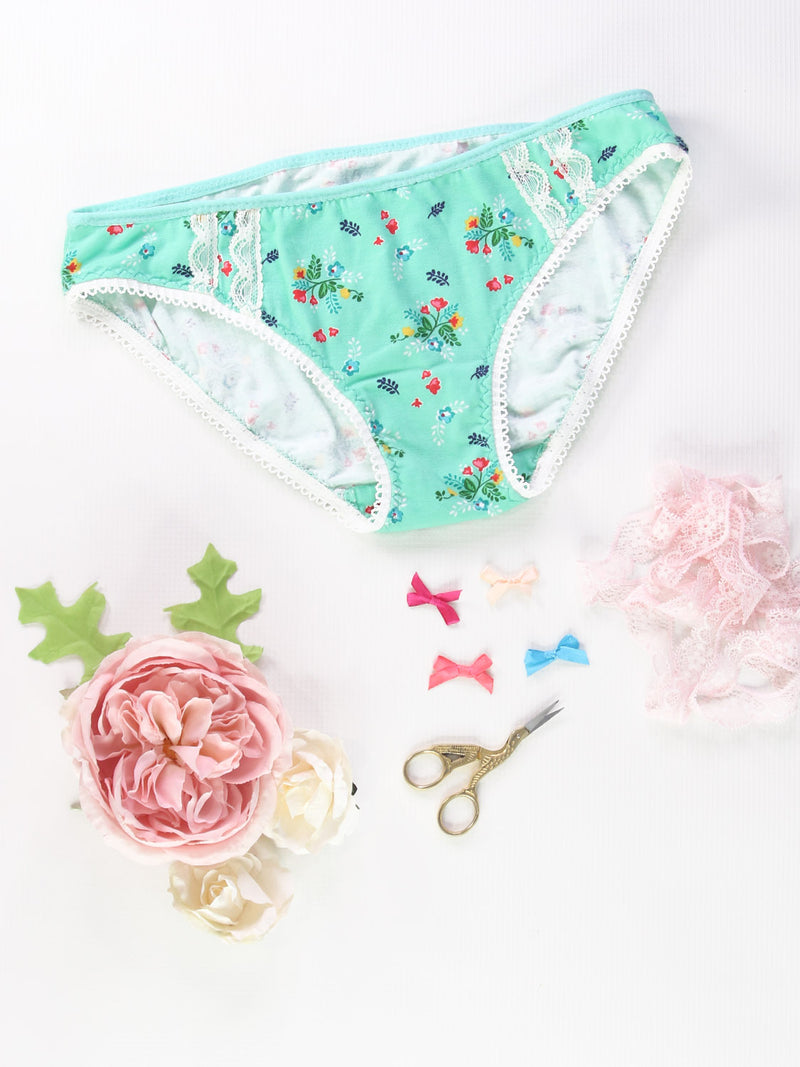 bikini panties pattern, sewing pattern