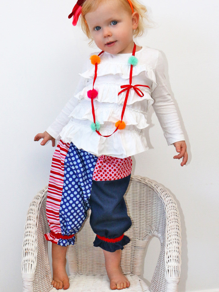 PANTS Pattern - PATCHWORK (0-6T)