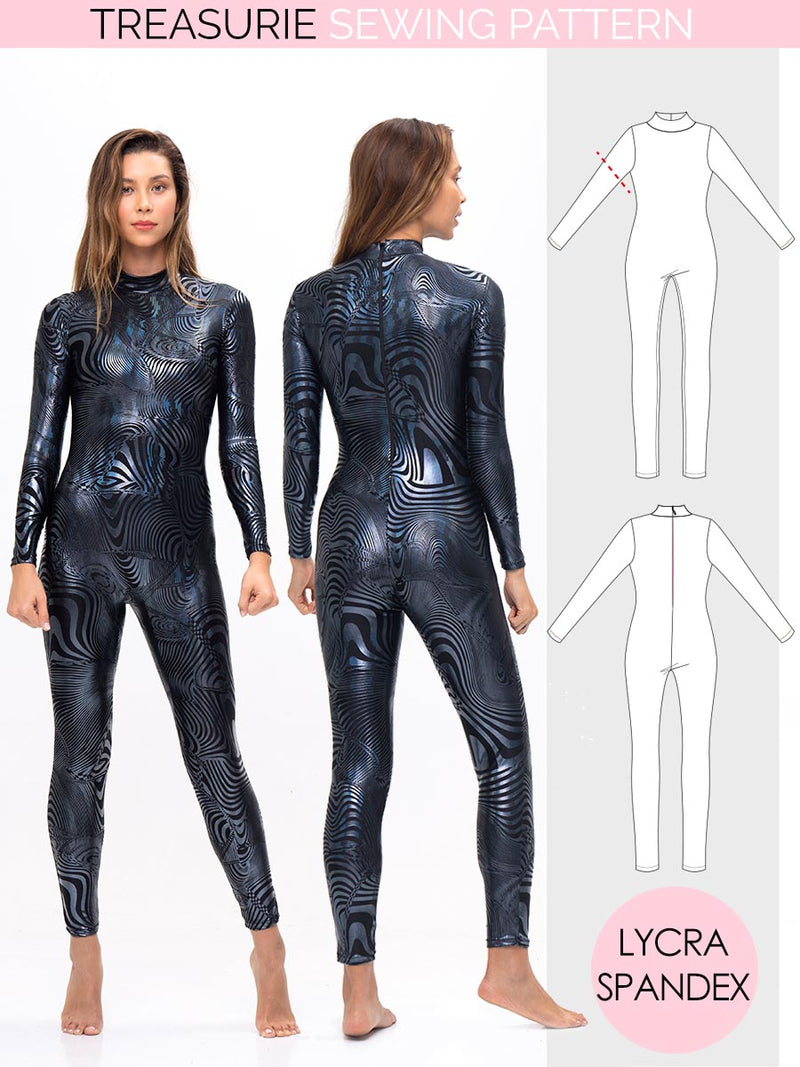 Bodysuit Pattern - WOMENS - (W71-L)