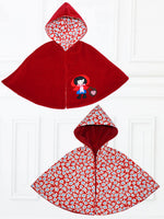 MAISIE - Girls Reversible Cape Pattern