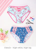 panties pattern, underwear pattern, undies patterns