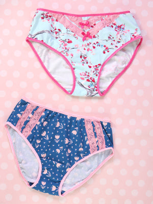 Panties Pattern - Womens - CLASSIC Briefs (U303-L)