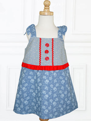 girls summer dress pattern