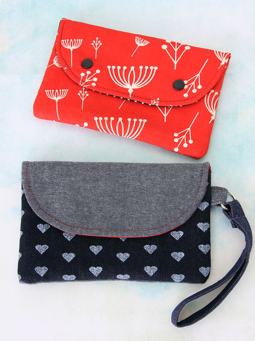 clutch sewing pattern