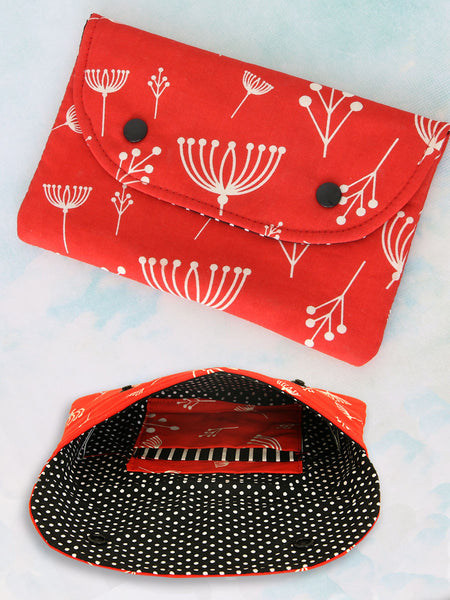 (B906) Handy Clutch Purse Sewing Pattern